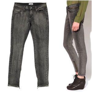 Silence + Noise Zipper Jeans Skinny Moto